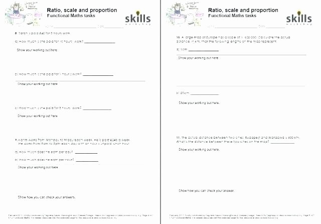 Functional Maths Worksheets Scale Drawing Worksheets Scale Drawing Lesson Plans Grade