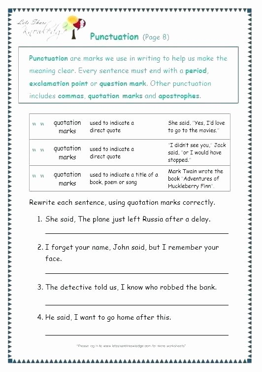 Funny Comma Mistakes Worksheets Inspirational Best Plex Sentence Worksheet Fourth Grade Pound