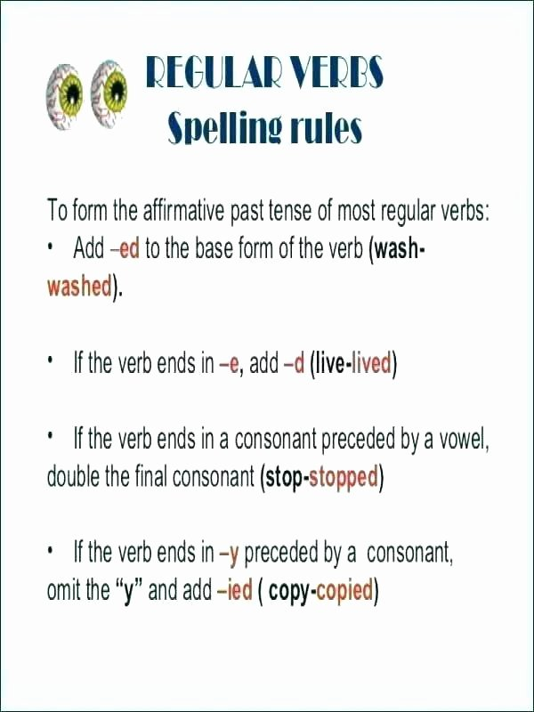 Future Tense Verbs Worksheet Regular Past Tense Verbs Worksheets