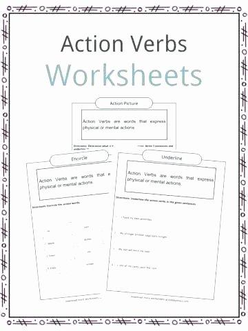 Future Tense Verbs Worksheet Verbs Worksheets for First Grade