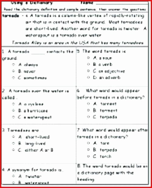 Genre Worksheets 4th Grade 7 Blank Vocabulary Worksheet Templates Word Free Premium