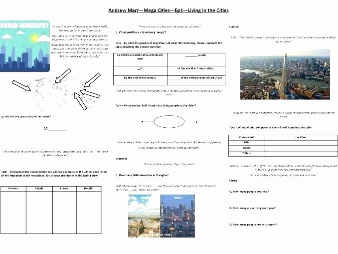 Geography Worksheets Middle School Pdf Elementary Geography Worksheets Free social Stu S Canada