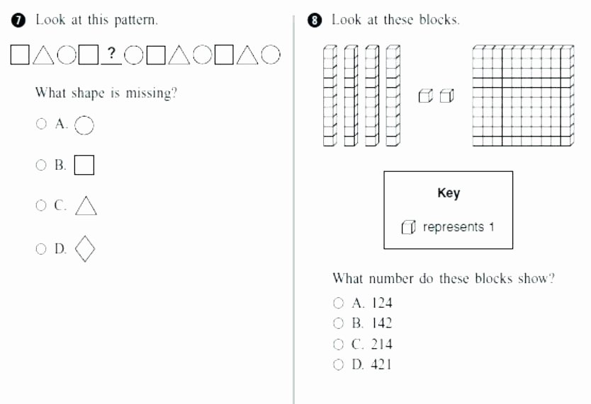 Geometric Shape Patterns Worksheet Number and Shape Patterns Worksheets