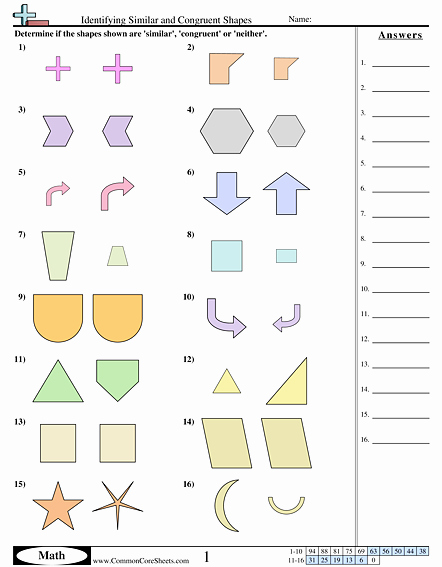 Geometric Shape Patterns Worksheet Shapes Worksheets