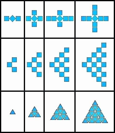 Geometric Shapes Patterns Worksheets Grade 2 Math Patterning Worksheets