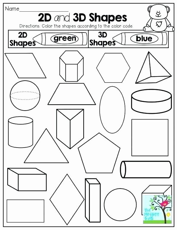 Geometric Shapes Patterns Worksheets Shapes Kindergarten Worksheets – Sunriseengineers