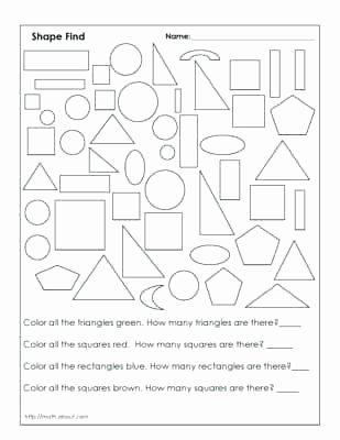 Geometric Shapes Worksheet 2nd Grade 2nd Grade Geometry Worksheet Math Geometric Shapes Grade Two