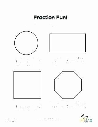 Geometric Shapes Worksheet 2nd Grade Partitioning Fractions Worksheets Year 3 Maths Grade
