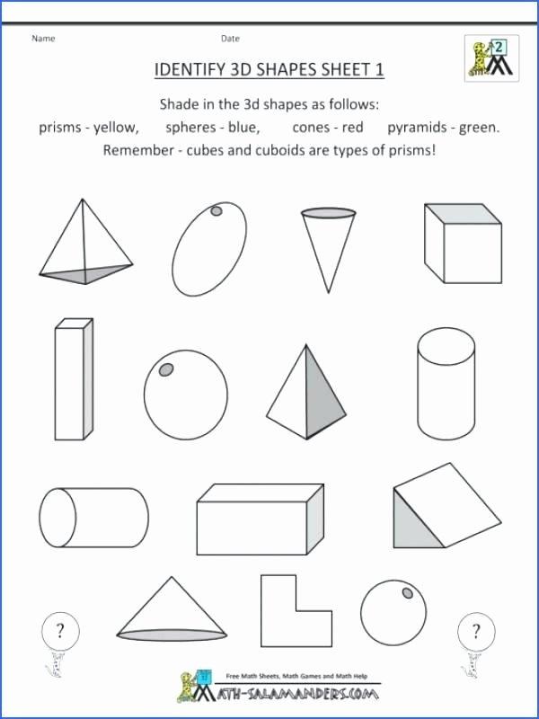 Geometric Shapes Worksheets 2nd Grade Grade Geometry Worksheets Free Phonics Ideas Geometric