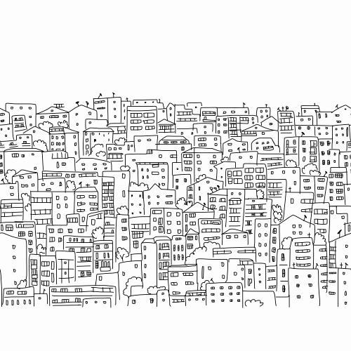 Geometry Dash Coloring Page New Abstract Cityscape Coloring Page Kidspressmagazine