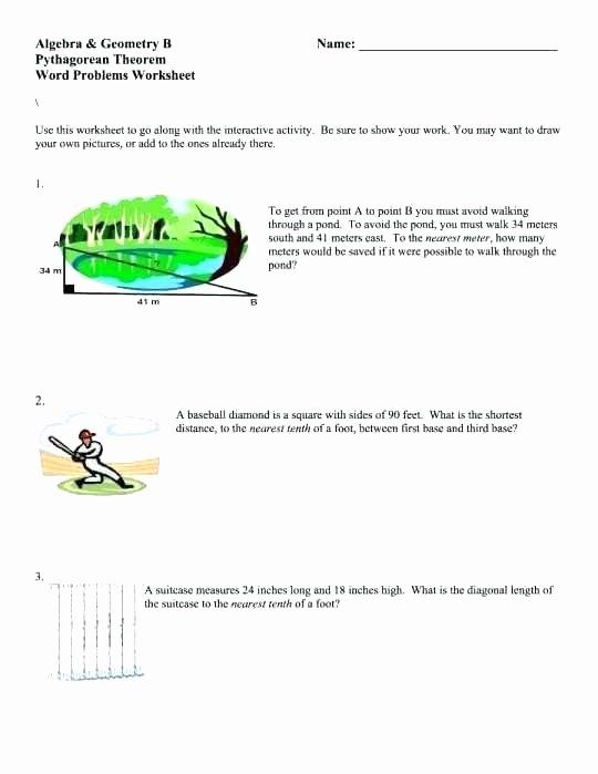 Geometry Word Problems Worksheets Geometry Problems Worksheet Algebra Geometry B theorem Word