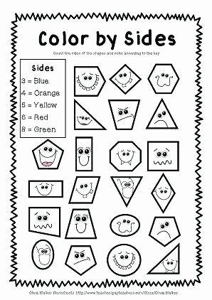 Geometry Worksheet 2nd Grade Geometry Worksheets for Elementary Students