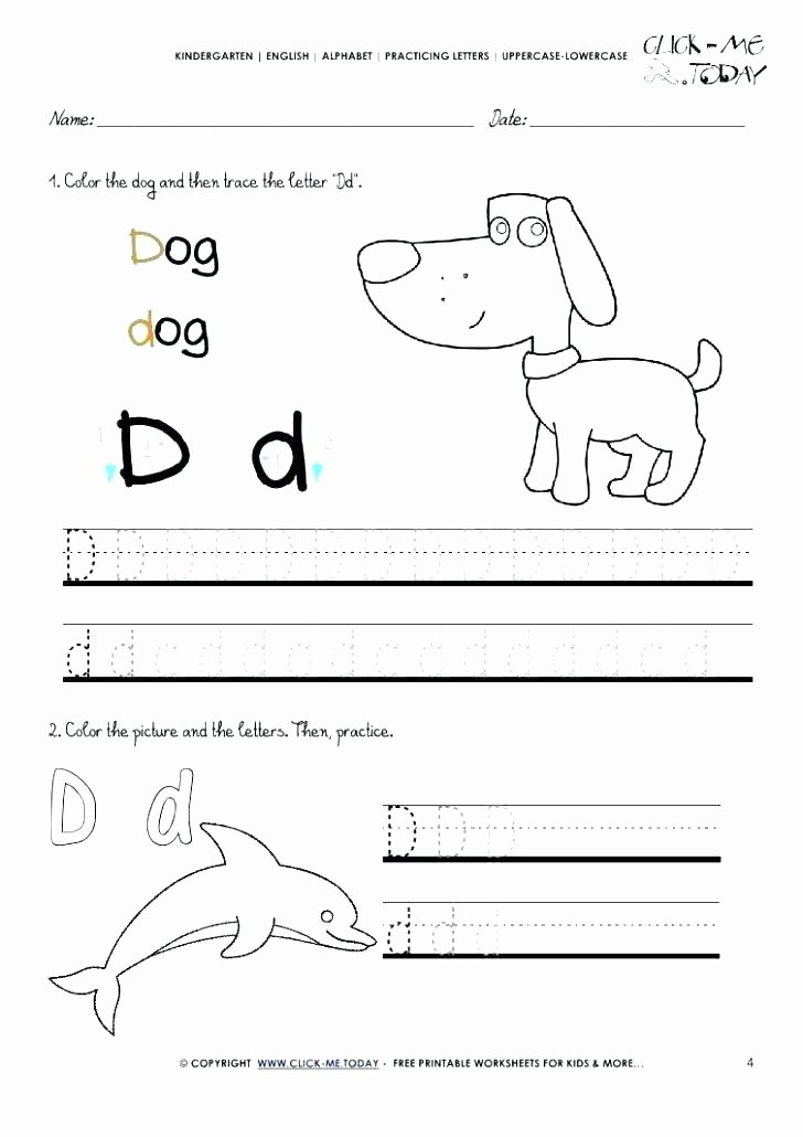 Germs Worksheets for Kindergarten Letter D Worksheets D Worksheets D Worksheets Preschool