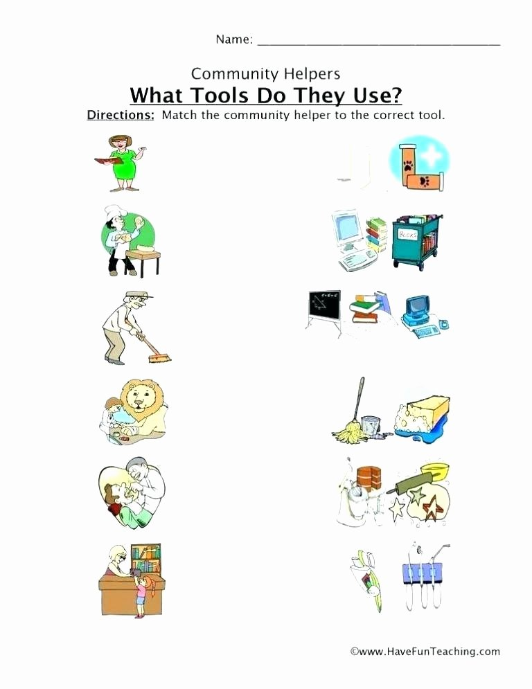 Germs Worksheets for Kindergarten Places In the Munity Worksheet Free Printable Worksheets