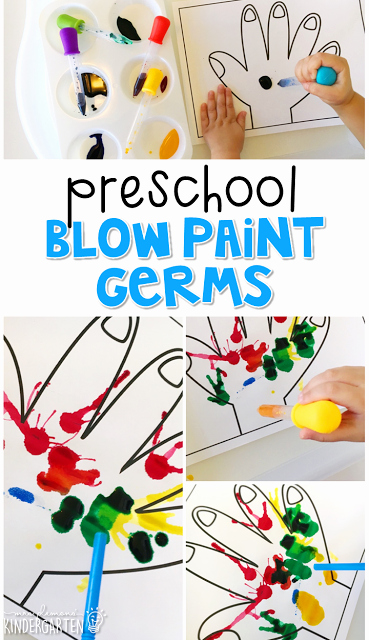 Germs Worksheets for Kindergarten Preschool Healthy Habits Ehs
