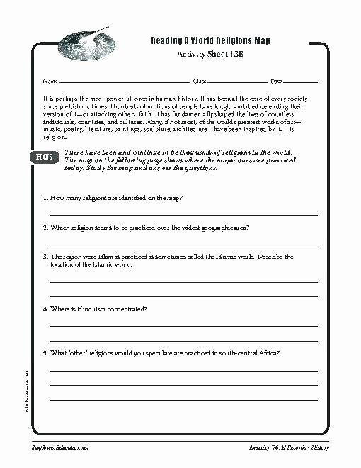 Grade 7 social Studies Worksheets Luxury Grade 7 social Stu S Worksheets Printable