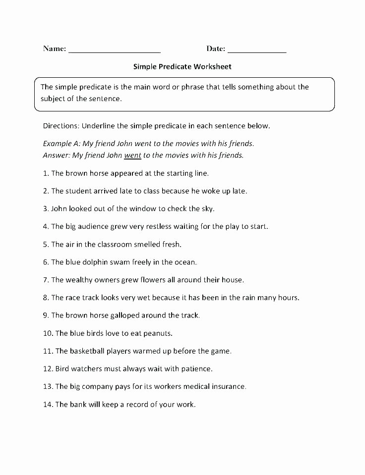 Grammar Mechanics Worksheets Fourth Grade Grammar Worksheets