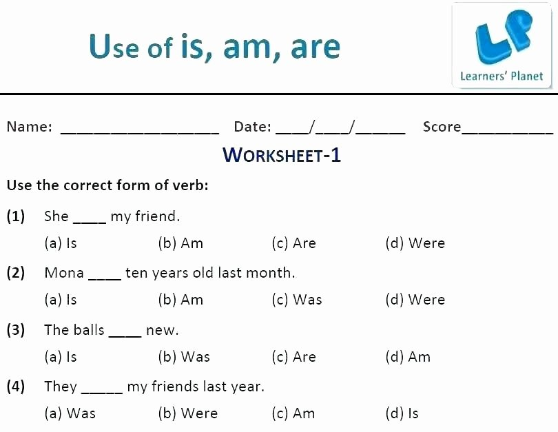 Grammar Mechanics Worksheets Spanish Level 1 Worksheets