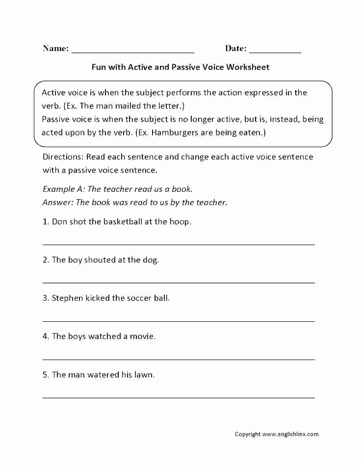 Grammar Mechanics Worksheets Types Sentences Grade Pound and Paragraph Writing