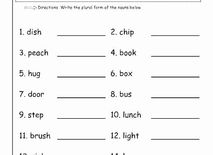 Grammar Worksheet 1st Grade 1st Grade Language Arts Worksheets