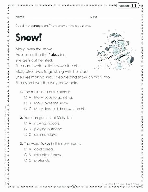 Grammar Worksheet First Grade First Grade Esl Worksheets