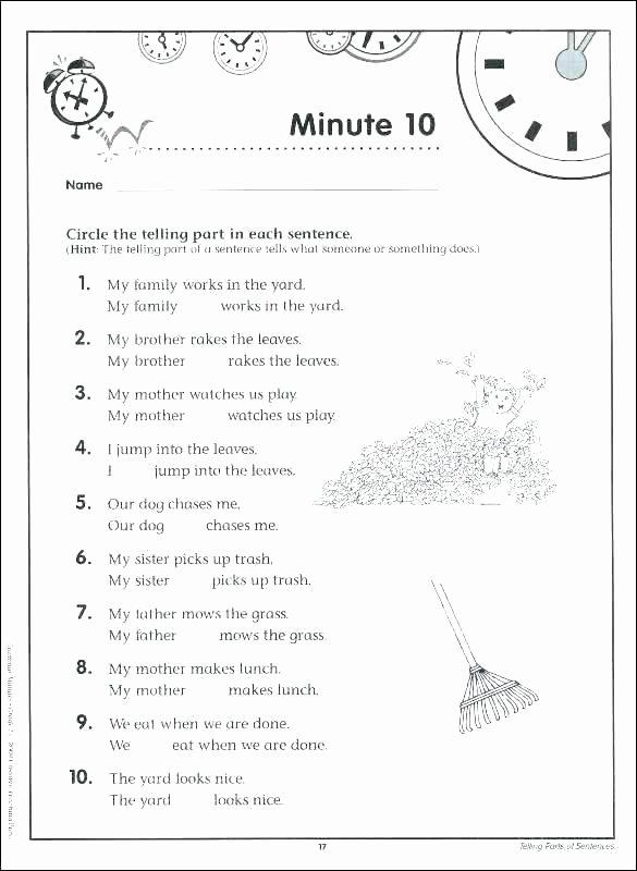 Grammar Worksheet First Grade Snapshot Image Punctuation Worksheets 3 and Grade