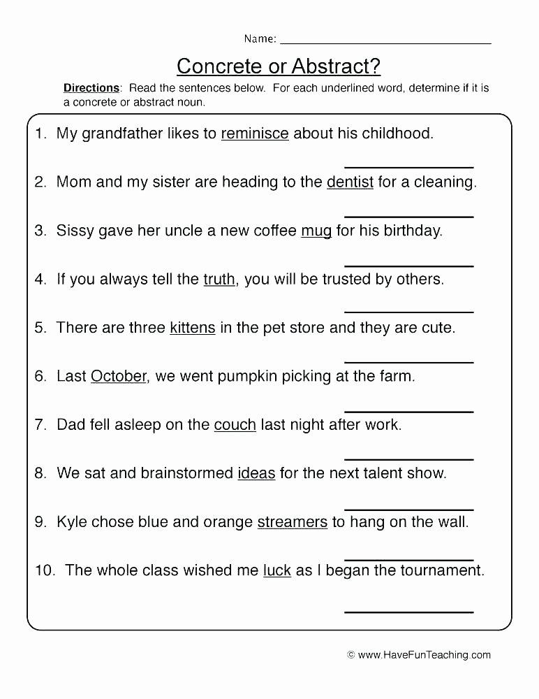 Grammar Worksheets for 2nd Grade Free Grammar Practice Worksheets High School Fun Lessons