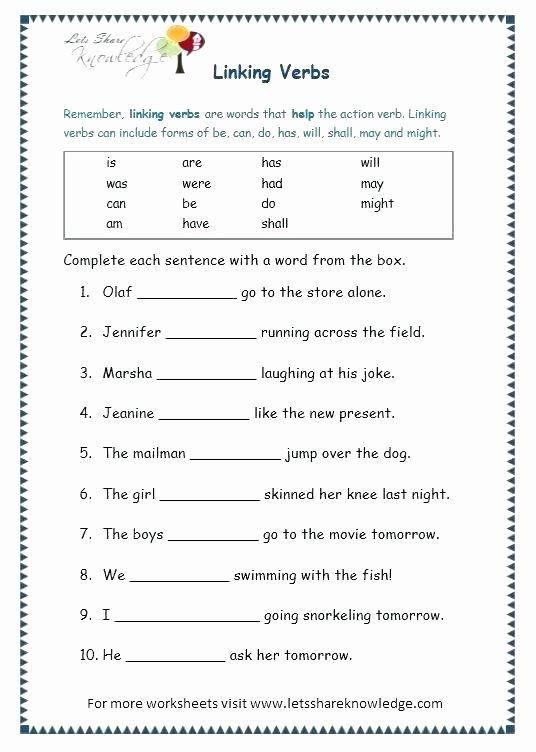 Grammar Worksheets for 3rd Grade Free Printable 5th Grade Grammar Worksheets Free Printable
