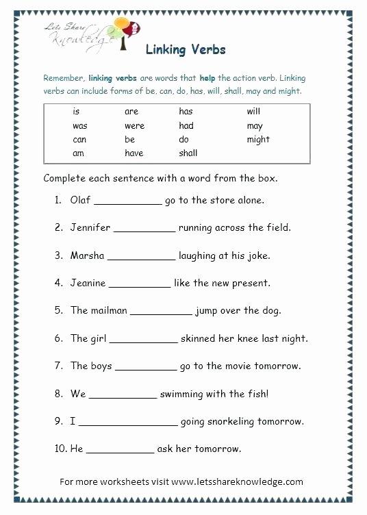 Grammar Worksheets for 3rd Grade Free Printable 5th Grade Grammar Worksheets Free Printable