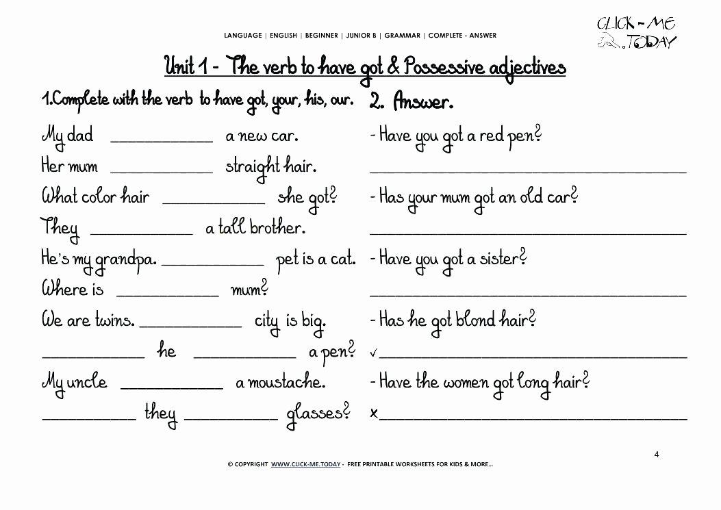 Grammar Worksheets High School Best Of Esl Grammar Worksheets