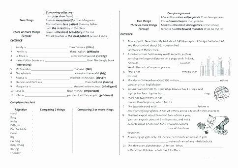 Grammar Worksheets High School Luxury High School English Grammar Worksheets Pdf