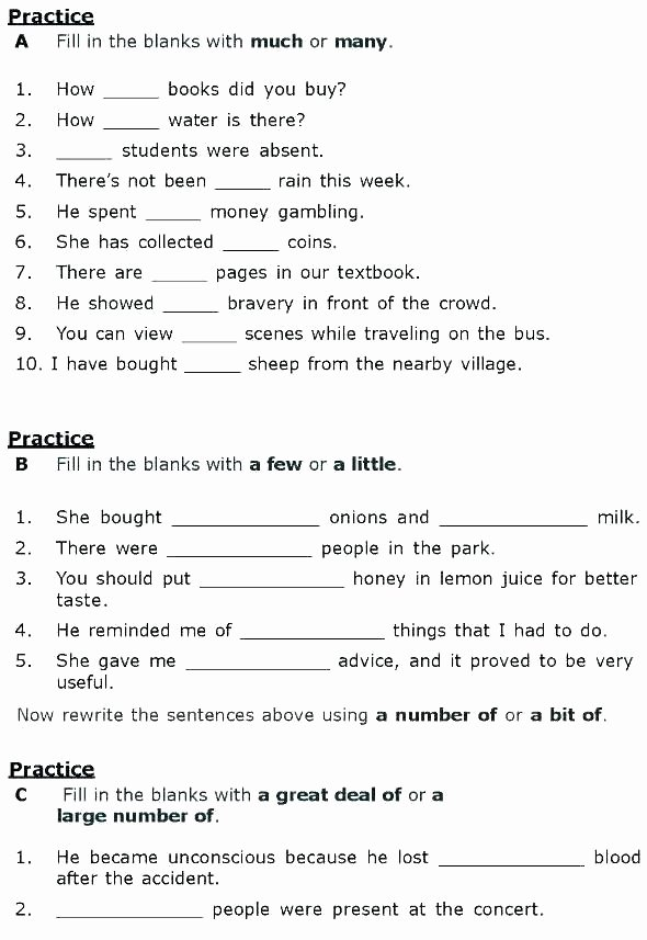 Grammar Worksheets Middle School Pdf I and Me Grammar Worksheets Adjectives Proper Worksheet