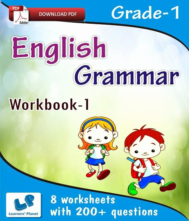 Grammatical Error Worksheets Grade 1 English Grammar Workbook 1 E Books Downloadable