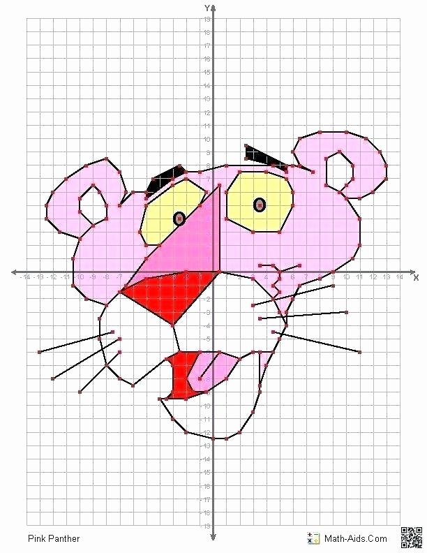 Graph Paper Art Worksheets Grid Coloring Mystery Art Worksheets New Beautiful Drawing