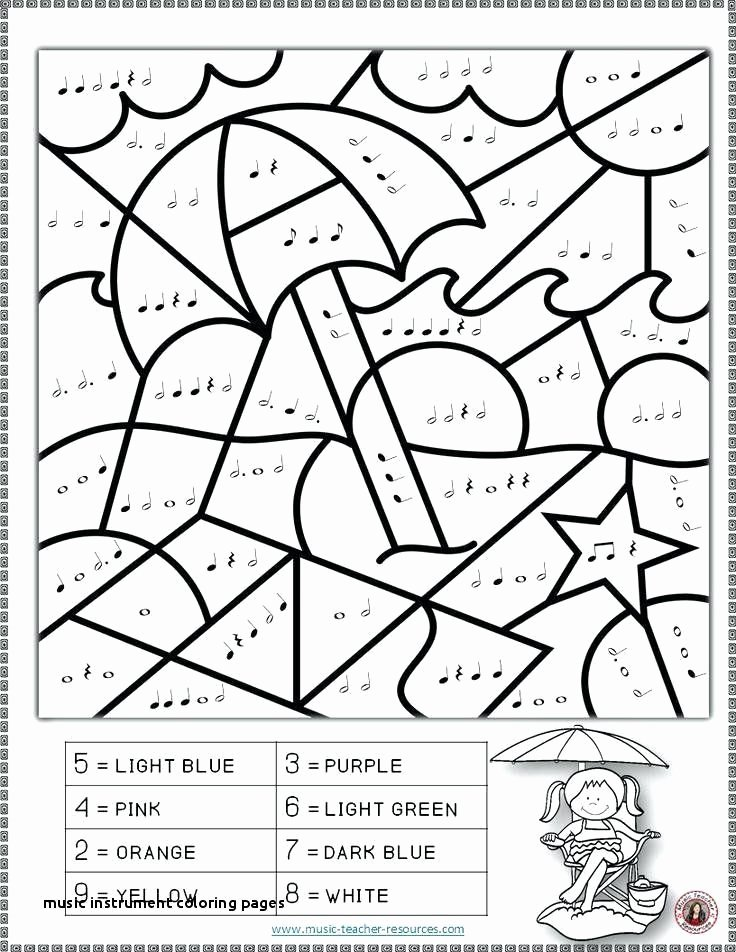 Graphic sources Worksheets Elegant Teaching Resources Coloring Pages Lovely Music Instrument