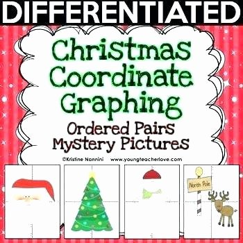 Graphing Christmas Pictures Lovely Christmas Math Worksheets Free Middle School Christmas