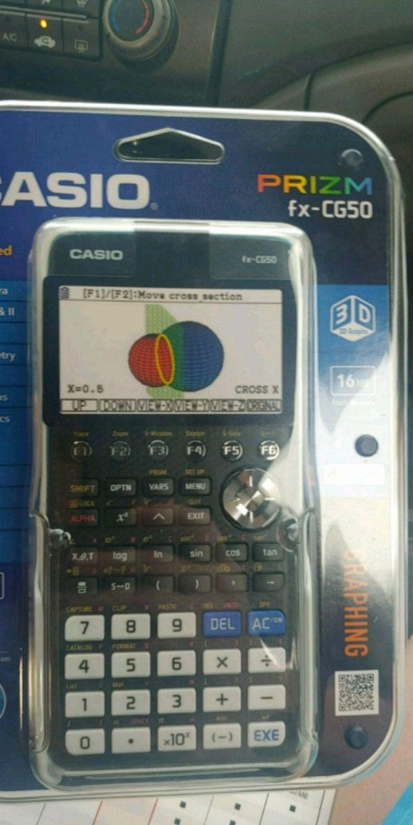 Graphing Christmas Pictures Luxury New In Box Casio Prizm Fx Cg50 Graphing Caculator