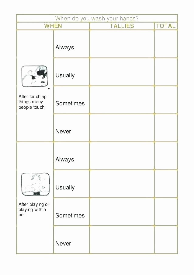 Graphing Worksheets Kindergarten Bar Graph Worksheets Grade Tally Chart for Printable