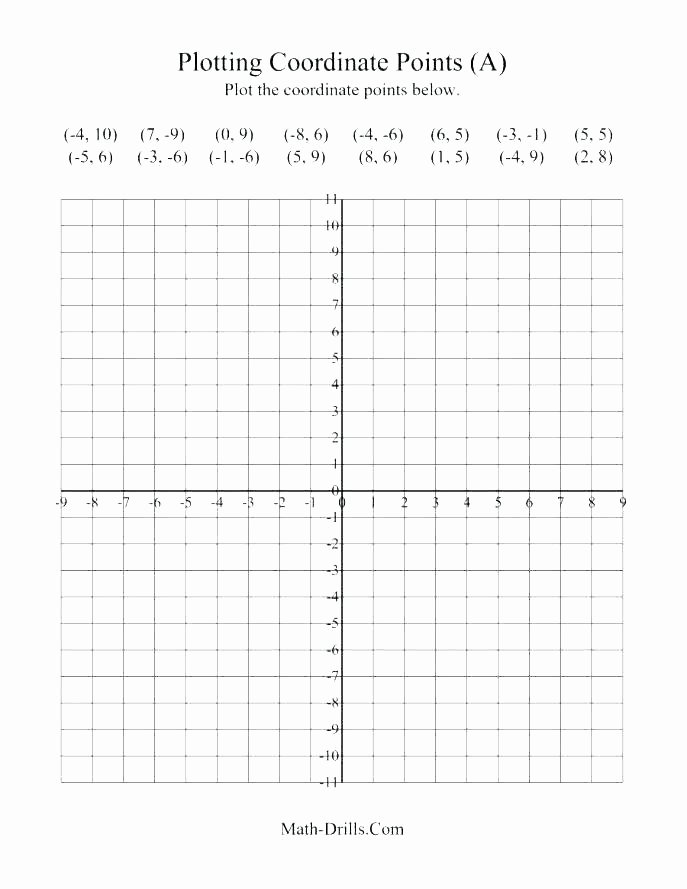 Grid Drawing Worksheets Middle School Coordinate Grid Worksheets Middle School Plane Plotting