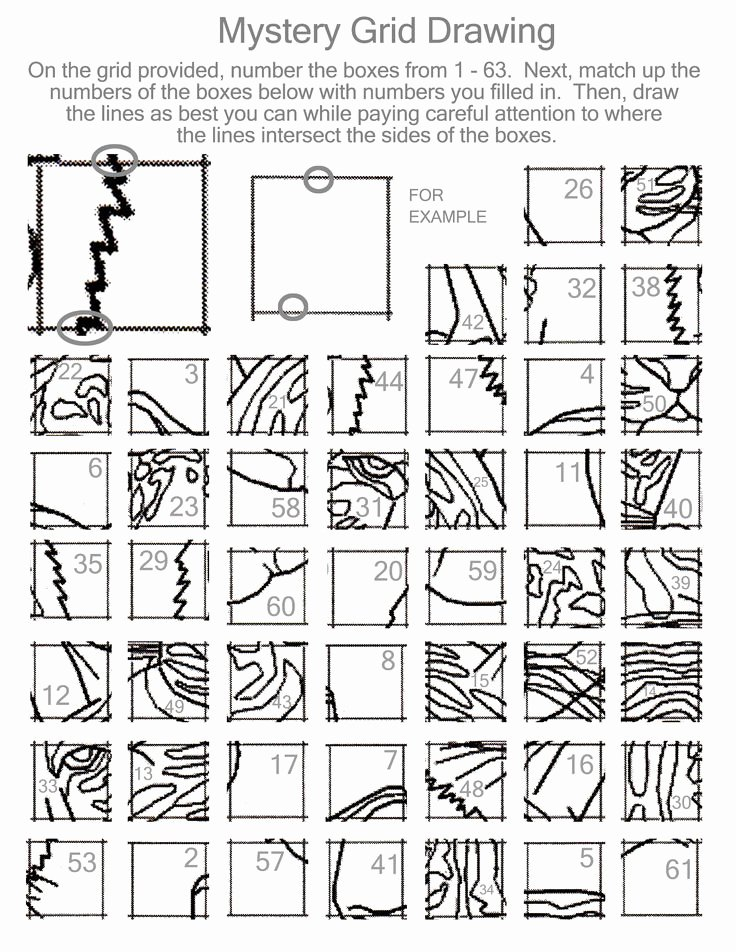 Grid Drawing Worksheets Middle School Mystery Grid Drawing Worksheets at Paintingvalley