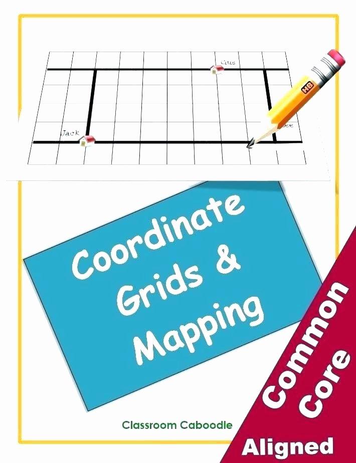 Grid Map Worksheets Color Grid Worksheets