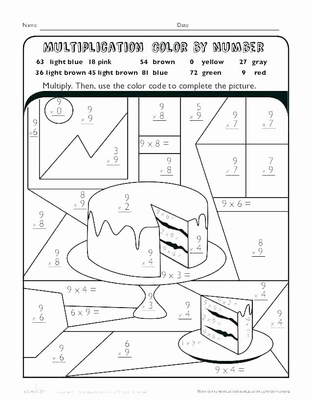 Grid Map Worksheets Grade 2 Color Grid Worksheets Multiplication Coloring Thanksgiving