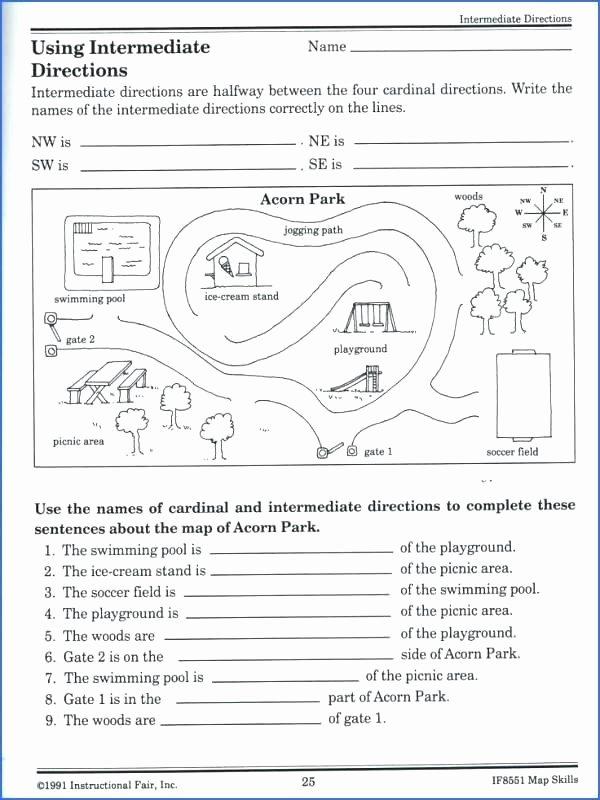 Grid Map Worksheets Grade 2 Map and Globe Skills Worksheets Grid 3rd Grade Pdf School
