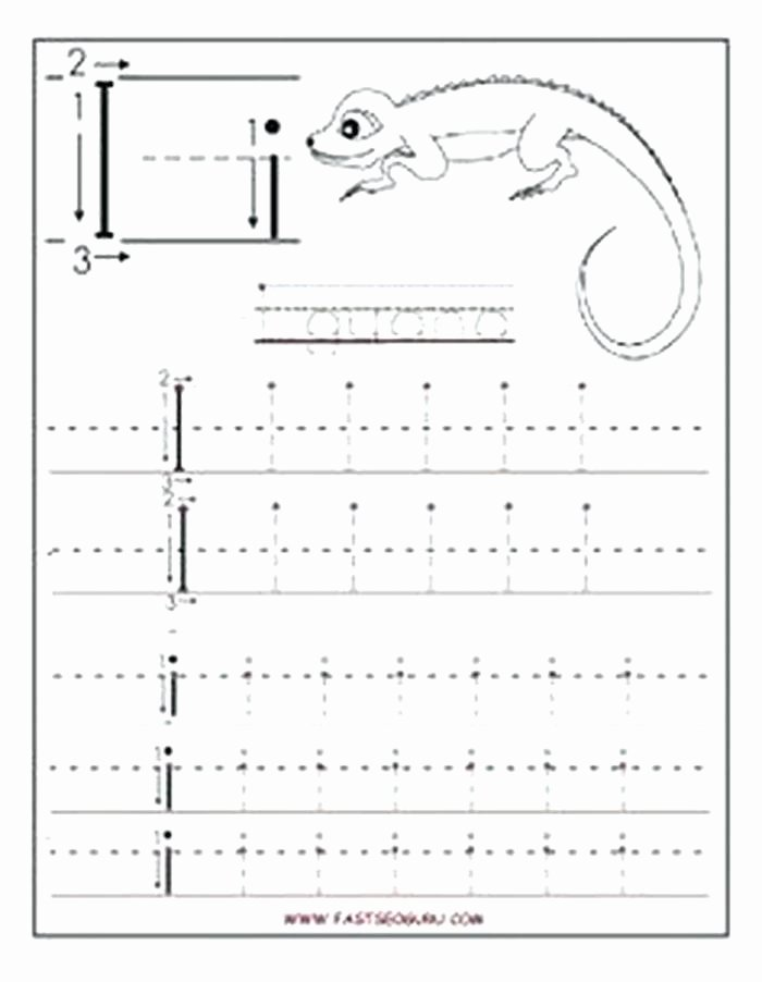 H Tracing Worksheet Free Printable Letter I Tracing Worksheets for Preschool