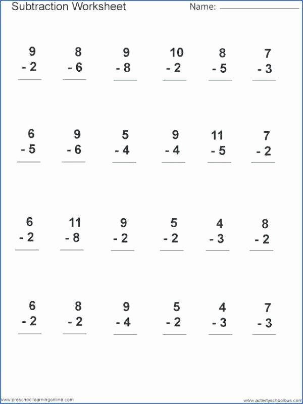 Habitat Worksheets for 1st Grade Subtraction and Addition Worksheets 1st Grade Free Kanji