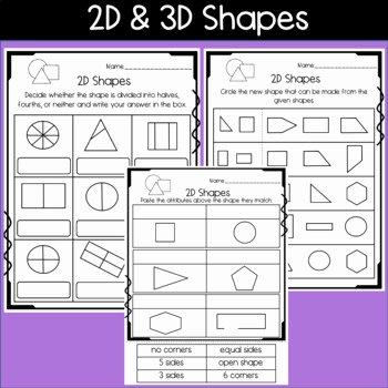 Halves and Fourths Worksheets 3d Shape Worksheets Redwoodsmedia
