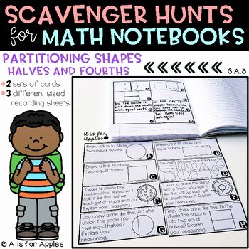 Halves Thirds Fourths Worksheets Divide Shapes Into Halves and Fourths Worksheets & Teaching