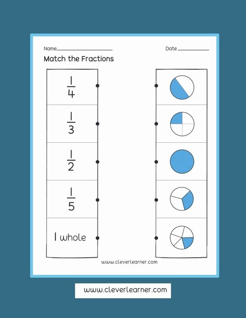 Halves Thirds Fourths Worksheets Fun and Free Activity Sheets On Fractions for Children
