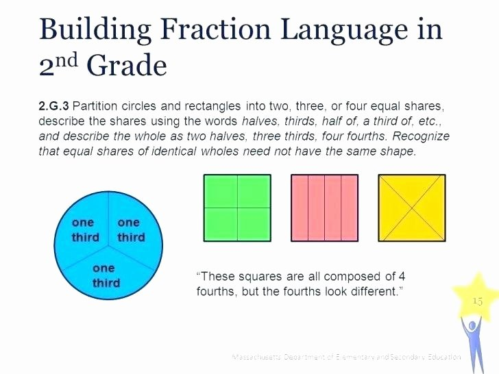 Halves Thirds Fourths Worksheets Paring Fractions Worksheet Grade Best New Equivalent