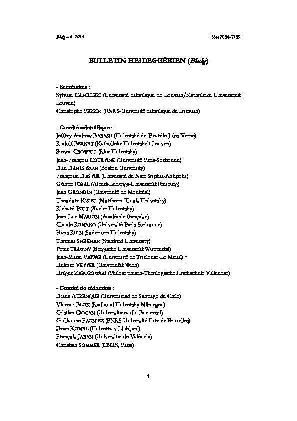 Harcourt social Studies World History Pdf Heidegger Au Brésil Panorama Des Chercheurs Et Des